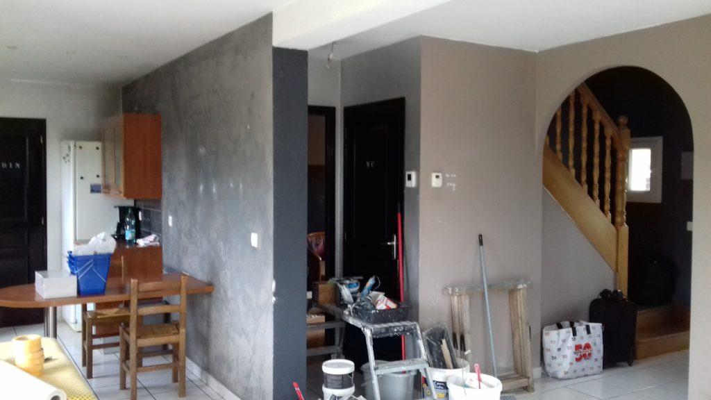 Renovation intérieur peinture